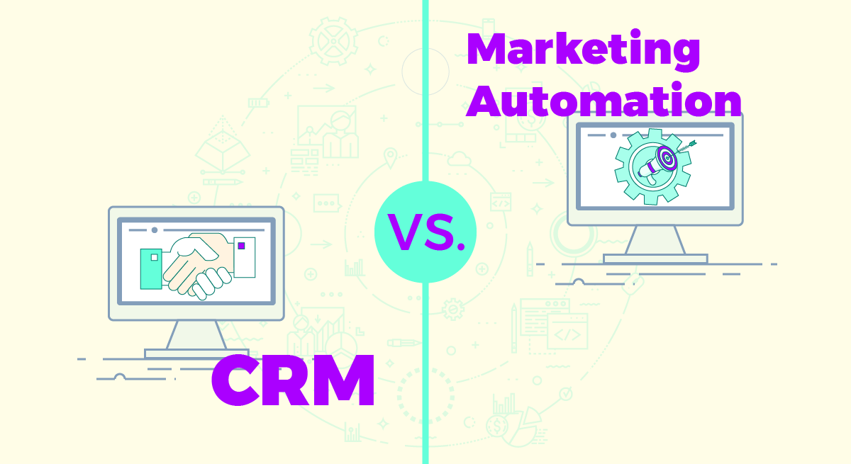 crm vs. marketing automation